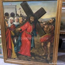 Antigüedades: N57 CUADRO JESÚS NAZARENO. Lote 214153525