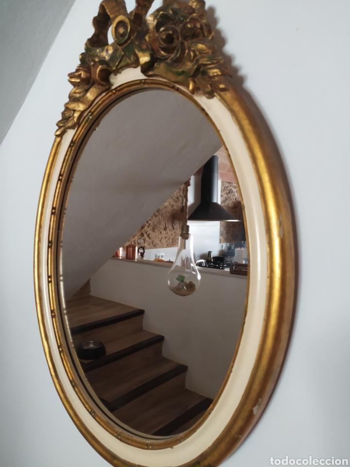 Antigüedades: Espectacular Cornucopia espejo francés de época. - Foto 3 - 214168505