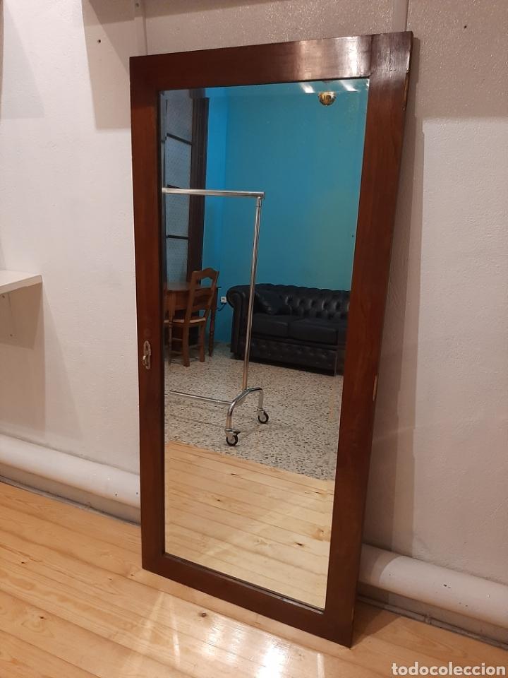 Antigüedades: Espejo antiguo cuerpo entero - Foto 2 - 214175855