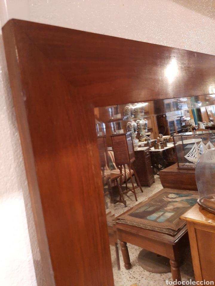 Antigüedades: Espejo antiguo cuerpo entero - Foto 3 - 214175855