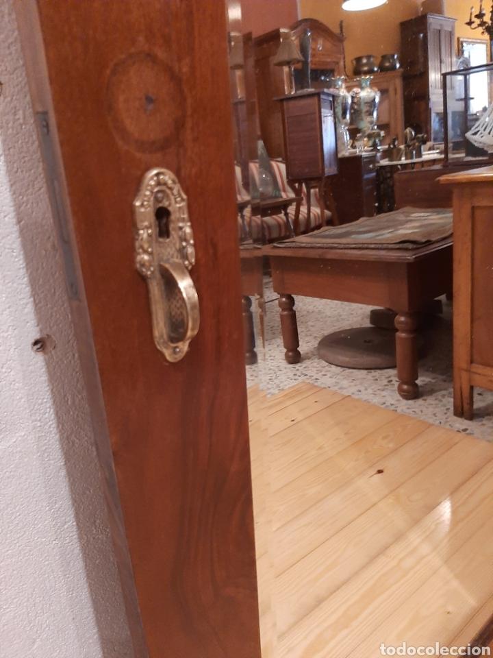 Antigüedades: Espejo antiguo cuerpo entero - Foto 4 - 214175855