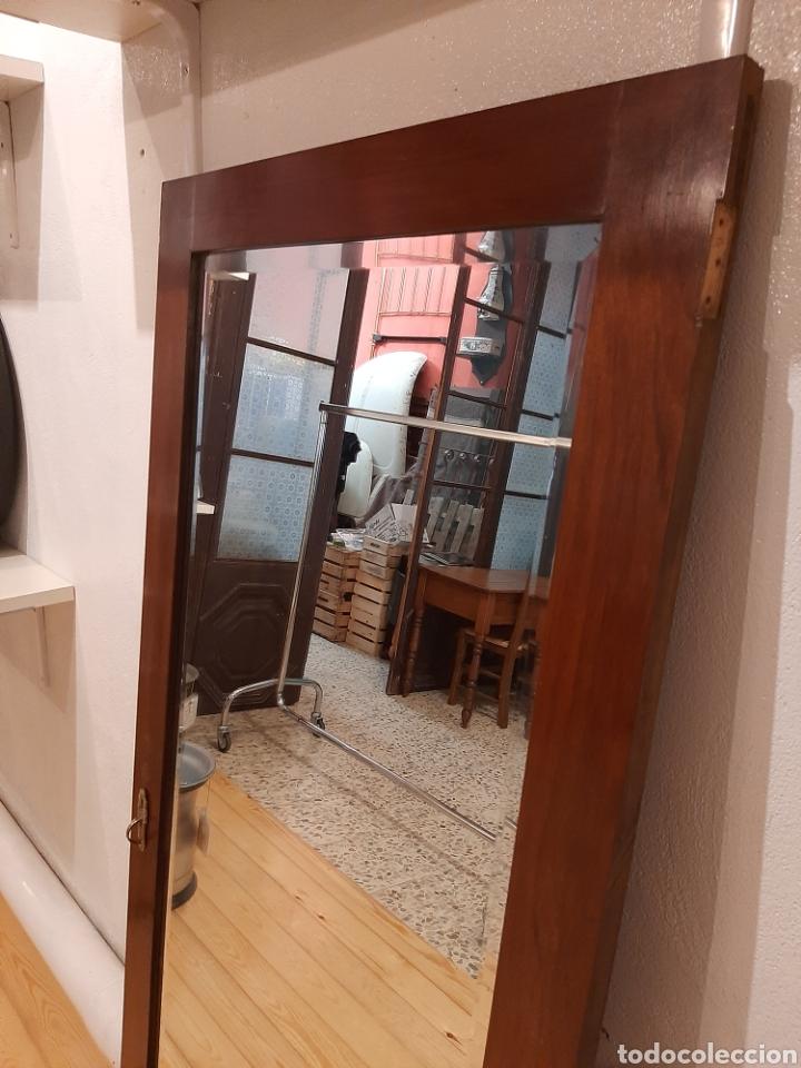Antigüedades: Espejo antiguo cuerpo entero - Foto 5 - 214175855