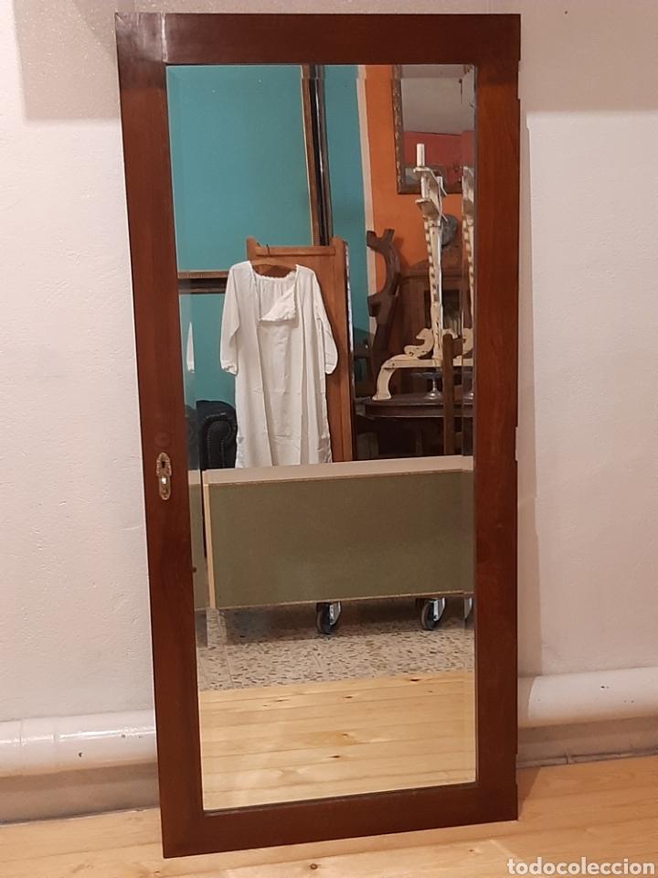 Antigüedades: Espejo antiguo cuerpo entero - Foto 6 - 214175855