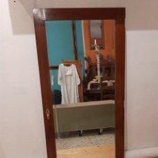 Antigüedades: ESPEJO ANTIGUO CUERPO ENTERO. Lote 214175855