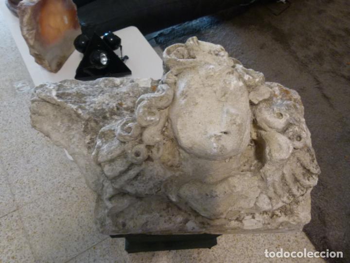 Antigüedades: CAPITEL DE PIRDRA SOGLO XVI - Foto 3 - 214186855