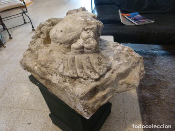Antigüedades: CAPITEL DE PIRDRA SOGLO XVI - Foto 11 - 214186855