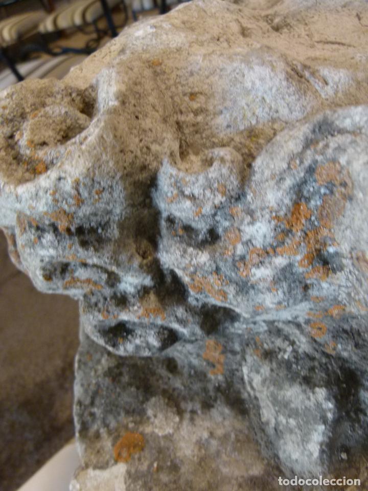 Antigüedades: CAPITEL DE PIEDRA SIGLO XVIII - Foto 6 - 214187201