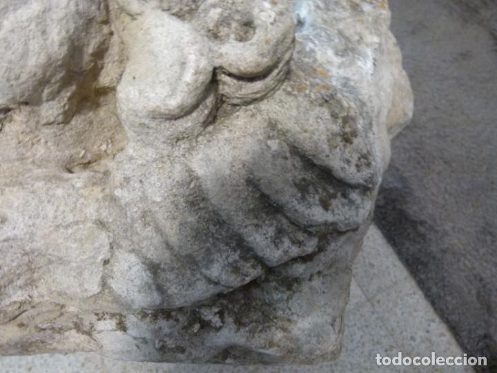 Antigüedades: CAPITEL DE PIEDRA SIGLO XVIII - Foto 9 - 214187201