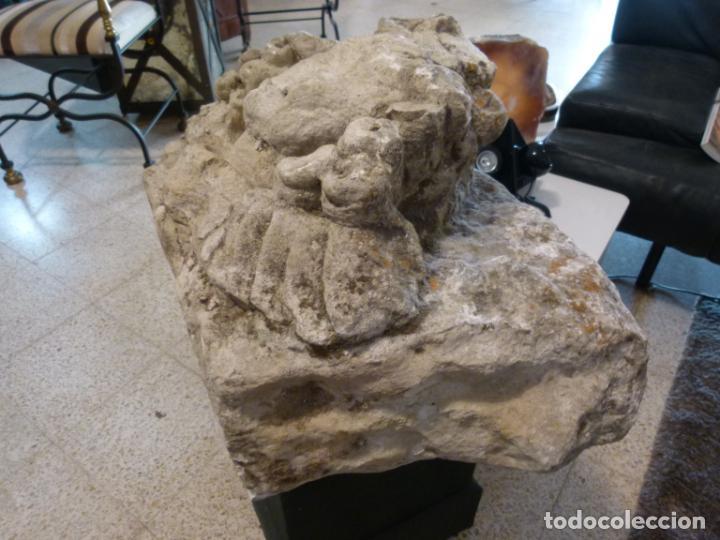 Antigüedades: CAPITEL DE PIEDRA SIGLO XVIII - Foto 10 - 214187201