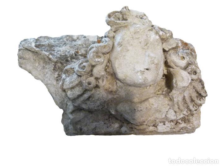 CAPITEL DE PIEDRA SIGLO XVIII (Antigüedades - Varios)