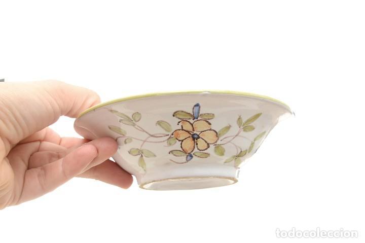 Antigüedades: Par de Platos antiguos pequeños de cerámica francesa la Tolosana - Foto 16 - 214204526