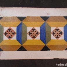 Antigüedades: AZULEJO VALENCIANO SIGLO XVIII. Lote 214228390