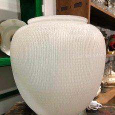 Antigüedades: ESPECTACULAR LAMPARA DE MESA ESTILO ART DECO - MEDIDA 47X35 CM. Lote 214236801