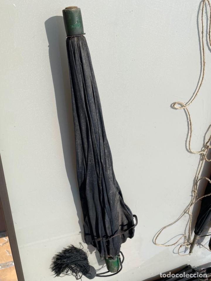 Antigüedades: Paraguas antiguo vintage años 30 y 40 - Foto 2 - 214240002