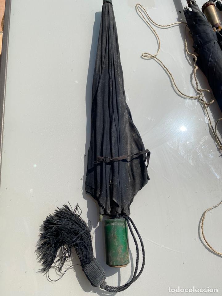 Antigüedades: Paraguas antiguo vintage años 30 y 40 - Foto 3 - 214240002