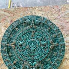 Antigüedades: PLATO DE COBRE MEJICANO. Lote 214248633