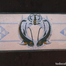 Antigüedades: AZULEJO VALENCIANO MODERNISTA. Lote 214263020