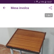 Antigüedades: MESA INVOLCA. Lote 214265832