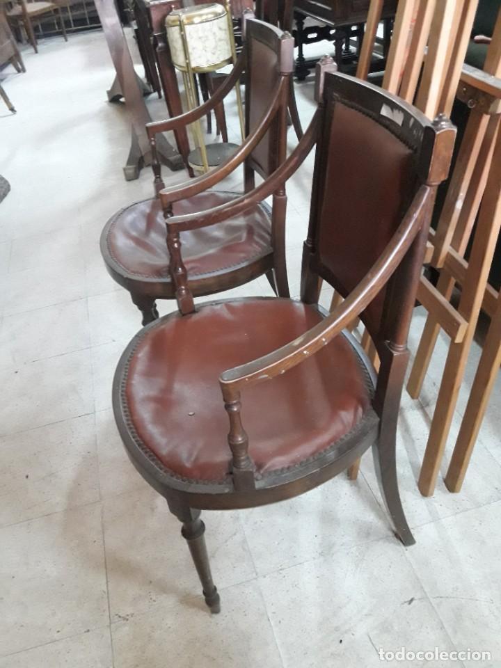 Antigüedades: pareja de sillones - Foto 2 - 214277995