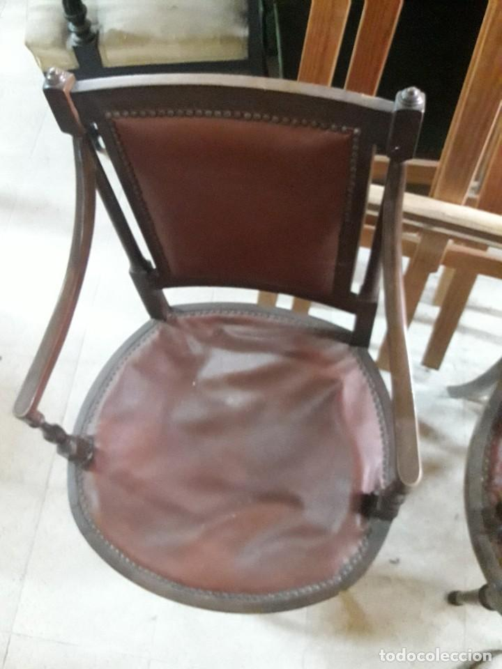 Antigüedades: pareja de sillones - Foto 3 - 214277995