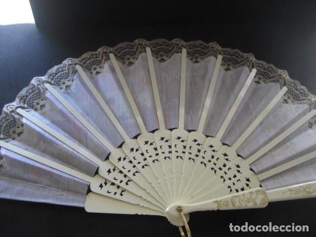 Antigüedades: ABANICO ESCENAS TAURINAS - Foto 5 - 214304691