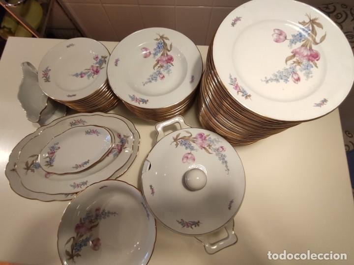 VAJILLA SANTA CLARA AÑOS 60 (Antigüedades - Porcelanas y Cerámicas - Santa Clara)