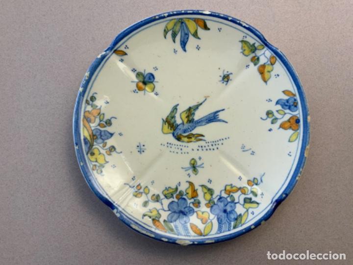 PEQUEÑO PLATO FAITANAR (Antigüedades - Porcelanas y Cerámicas - Alcora)