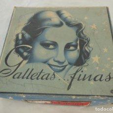Antigüedades: ANTIGUA CAJA CARTÓN : GALLETAS FINAS. VIDAL BENDRICH, CARTONAJES BARCELONA. Lote 214358058