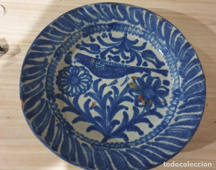 BRASERILLO FAJALAUZA SIGLO XVIII -XIX (Antigüedades - Porcelanas y Cerámicas - Fajalauza)
