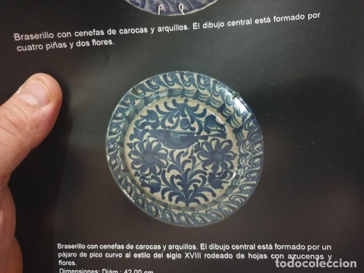 Antigüedades: Braserillo fajalauza siglo xviii -xix - Foto 2 - 214428590