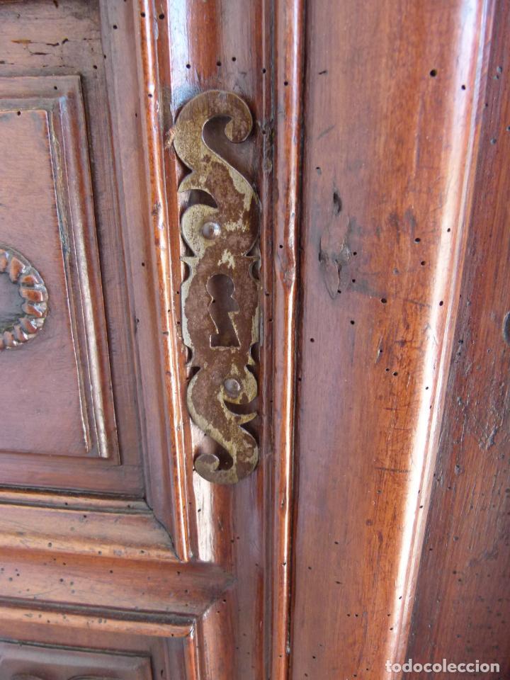 Antigüedades: ARMARIO FRANCES SIGLO XVIII - Foto 10 - 214448211