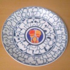 Oggetti Antichi: PLATO ADÁN. BEA REY. NUMERADO 96/500. CERAMICA DO CASTRO. SARGADELOS. Lote 214452373
