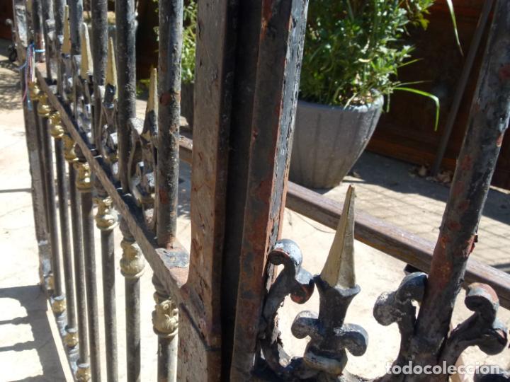 Antigüedades: PORTAL DE HIERRO FRANCES - Foto 8 - 214457013