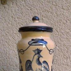 Antigüedades: ANTIGUO ALBARELO DE CERAMICA DE PUENTE DEL ARZOBISPO. Lote 214533230