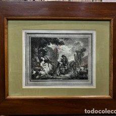 Antigüedades: MARCO DE CAOBA DE ÉPOCA ISABELINA.. Lote 214541436