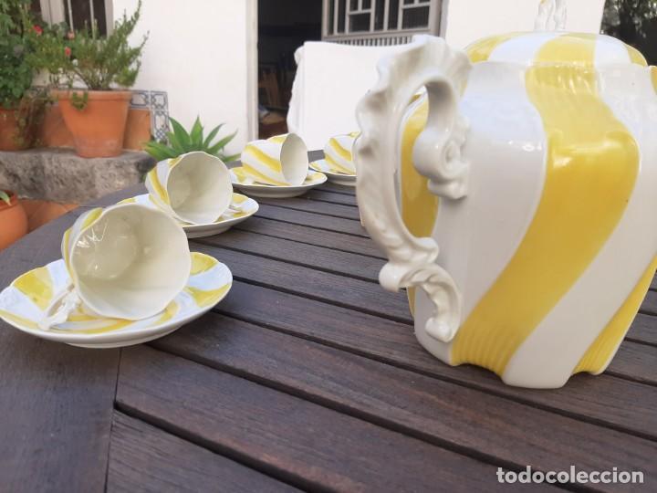 Antigüedades: Juego de te limoges - Foto 9 - 214565382