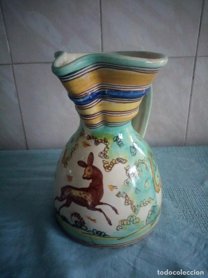 JARRA DE CERAMICA SANGUINO PUENTE DE ARZOBISPO (Antigüedades - Porcelanas y Cerámicas - Puente del Arzobispo )