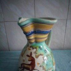 Antigüedades: JARRA DE CERAMICA SANGUINO PUENTE DE ARZOBISPO. Lote 214592908