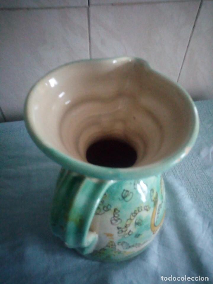 Antigüedades: jarra de ceramica sanguino puente de arzobispo - Foto 5 - 214592908