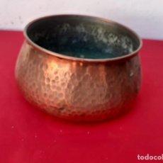 Antigüedades: MACETA DE COBRE. Lote 214618481