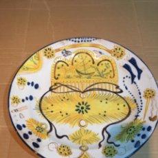 Antigüedades: (M-R/C) ANTIGUO PLATO RIBESALBES - 35 CM. BUEN ESTADO. Lote 214653336