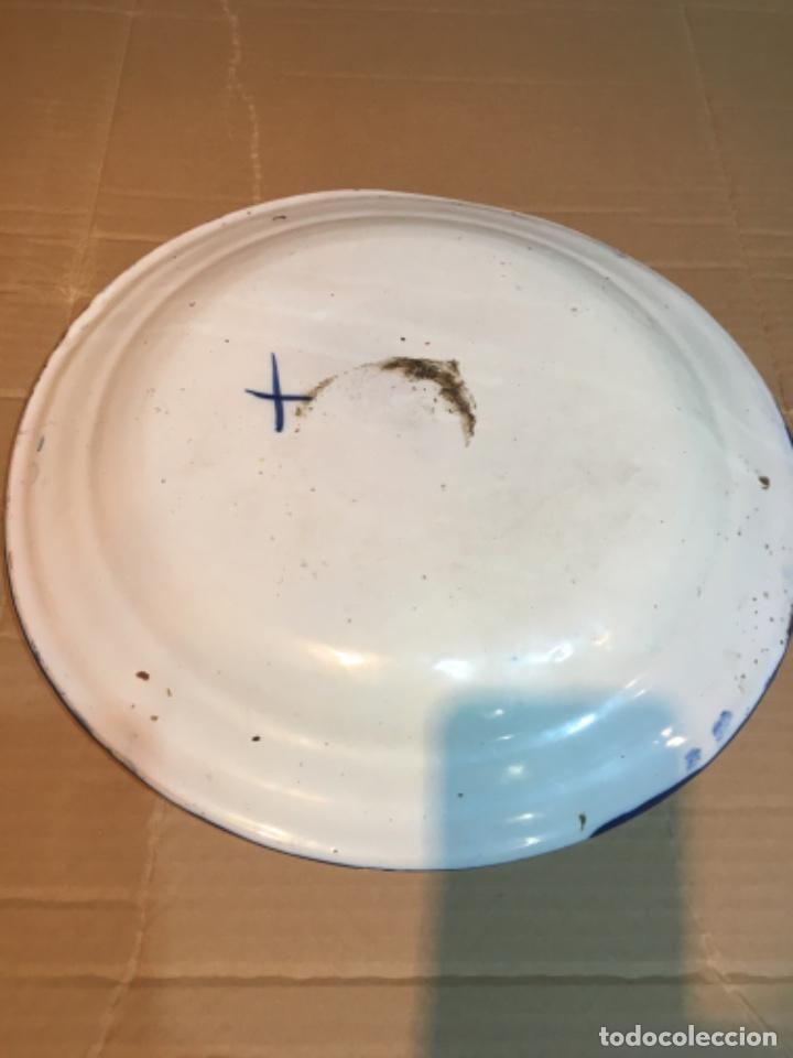 Antigüedades: (M-R/C) ANTIGUO PLATO RIBESALBES - 35 cm. BUEN ESTADO - Foto 6 - 214653336