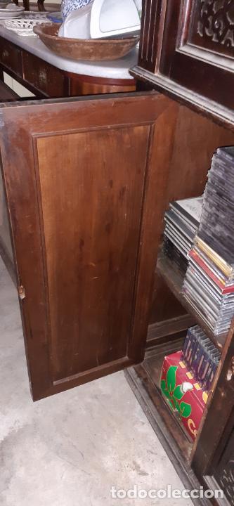 Antigüedades: ANTIGUO MUEBLE DE OFICINA. 170 × 80 × 40 CMS. - Foto 9 - 214668288