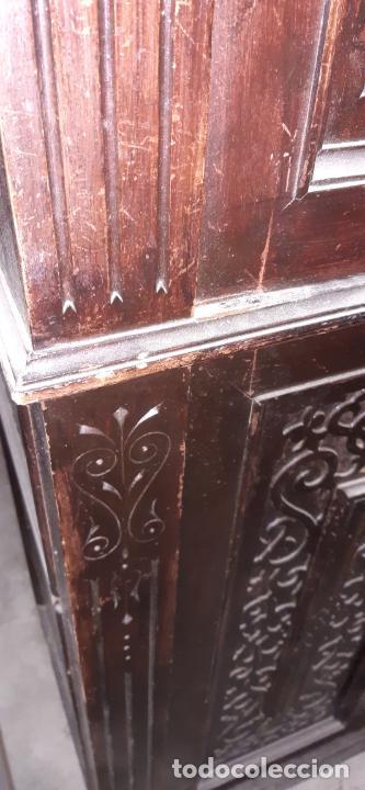 Antigüedades: ANTIGUO MUEBLE DE OFICINA. 170 × 80 × 40 CMS. - Foto 12 - 214668288