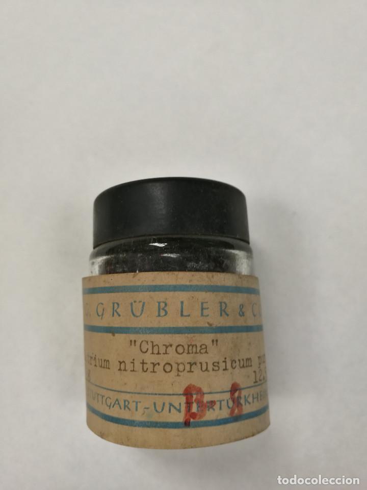 ANTIGUO FRASCO DE FARMACIA (Antigüedades - Cristal y Vidrio - Farmacia )
