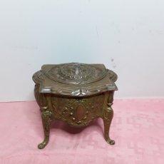 Antigüedades: JOYERO METALICO. Lote 214740641