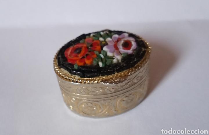 ANTIGUO Y MUY BONITO PASTILLERO (Antigüedades - Hogar y Decoración - Cajas Antiguas)
