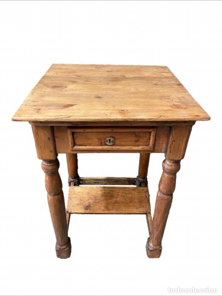ANTIGUO ESCRITORIO- PUPITRE, RESTAURADO, PRECIOSO. (Antigüedades - Muebles Antiguos - Mesas Antiguas)