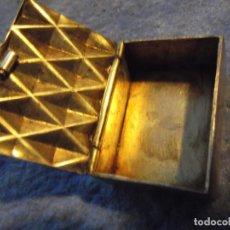 Antigüedades: PASTILLERO DE PLATA. Lote 214950106