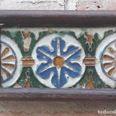 Antigüedades: AZULEJO ANTIGUO DE TOLEDO - ARISTA O CUENCA - RENACIMIENTO- SIGLO XVI.. Lote 214992986